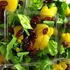 A healthy fruit salad.