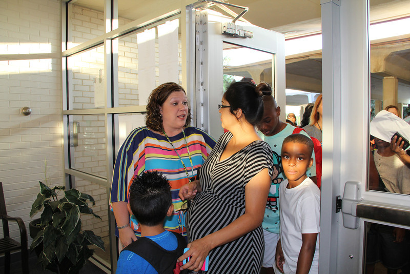 New principal welcomes families.
