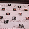 Portraits of the U.S. Presidents overplayed on the Constitution.