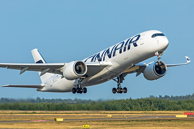 Finnair Airbus A350-941 OH-LWE 8-18-19 2