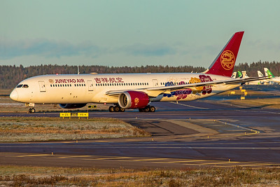 Juneyao Airlines Boeing 787-9 Dreamliner B-1115 10-29-19