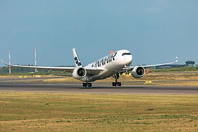 Finnair Airbus A350-941 OH-LWH 8-18-19