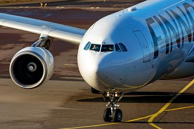 Finnair Airbus A330-302 OH-LTR 10-29-19 2
