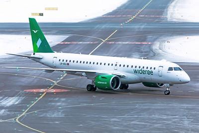 Widerøe Embraer ERJ-190-300STD LN-WEA 1-13-19