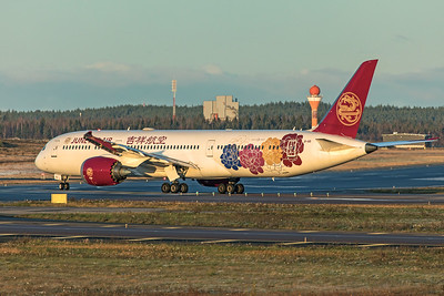 Juneyao Airlines Boeing 787-9 Dreamliner B-1115 10-29-19 3