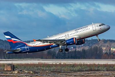Aeroflot Airbus A320-214 VQ-BEJ 10-29-19