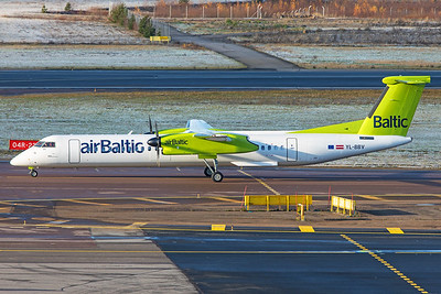 air Baltic Bombardier DHC-8-402Q YL-BBV 10-29-20