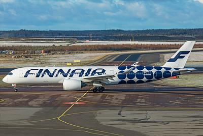 Finnair Airbus A350-941 OH-LWL 10-29-19 2