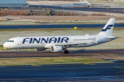 Finnair Airbus A321-211 OH-LZF 10-29-19