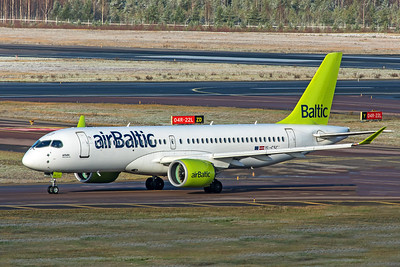 air Baltic Airbus A220-300 YL-CSC 10-29-19
