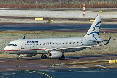 Aegean Airlines Airbus A320-232 SX-DNC 10-29-19