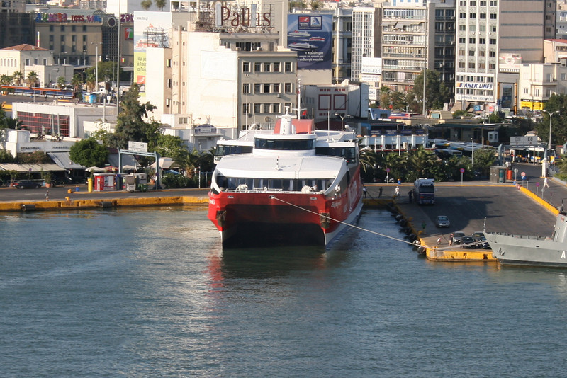 HSC HIGHSPEED 3 in Piraeus.