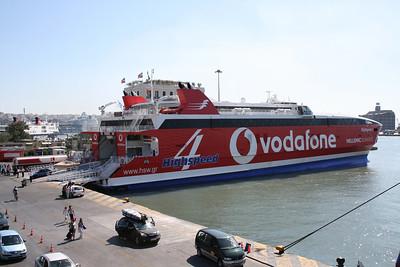 2009 - HSC HIGHSPEED 4 in Piraeus.