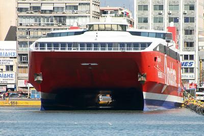 2009 - HSC HIGHSPEED 4 in Piraeus : front view.