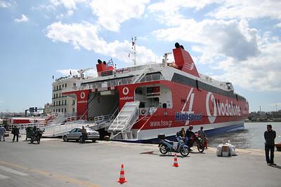 2008 - HSC HIGHSPEED 4 in Piraeus.