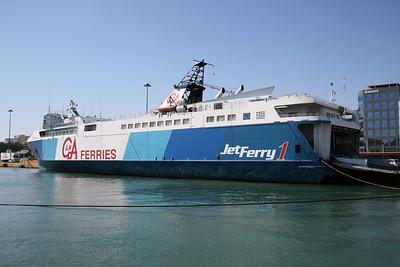 2009 - HSC JETFERRY 1 in Piraeus.