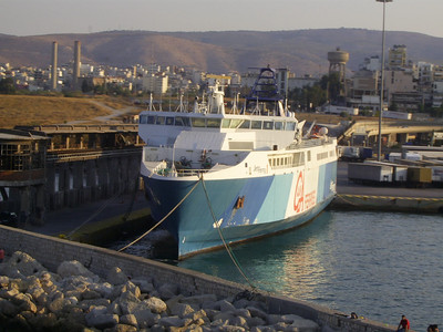 2012 - HSC JETFERRY 1 laid up in Piraeus.