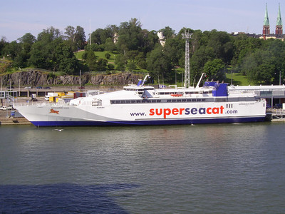 2007 - SUPERSEACAT FOUR in Helsinki.