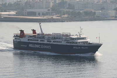 2011 - F/B APOLLON HELLAS arriving to Piraeus.