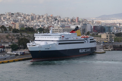 F/B ARIADNE in Piraeus.