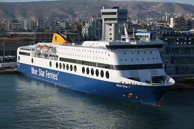 2009 - F/B BLUE STAR 1 in Piraeus.