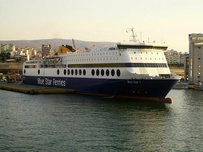 2012 - F/B BLUE STAR 1 in Piraeus.