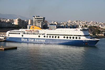 2009 - F/B BLUE STAR 1 in Piraeus.