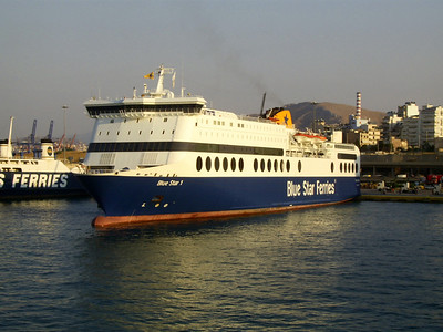 2012 - F/B BLUE STAR 1 in Piraeus.