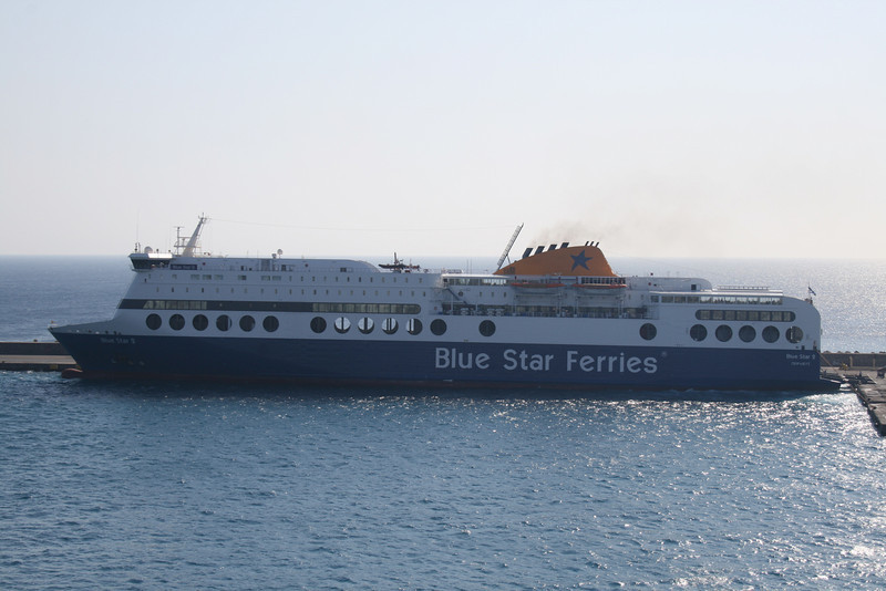 F/B BLUE STAR 2 in Rodos.