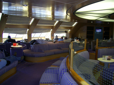 2012 - On board BLUE STAR NAXOS : business class.