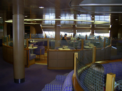 2012 - On board BLUE STAR NAXOS : business class.