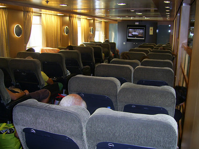 2012 - On board BLUE STAR NAXOS : aircraft type seats.