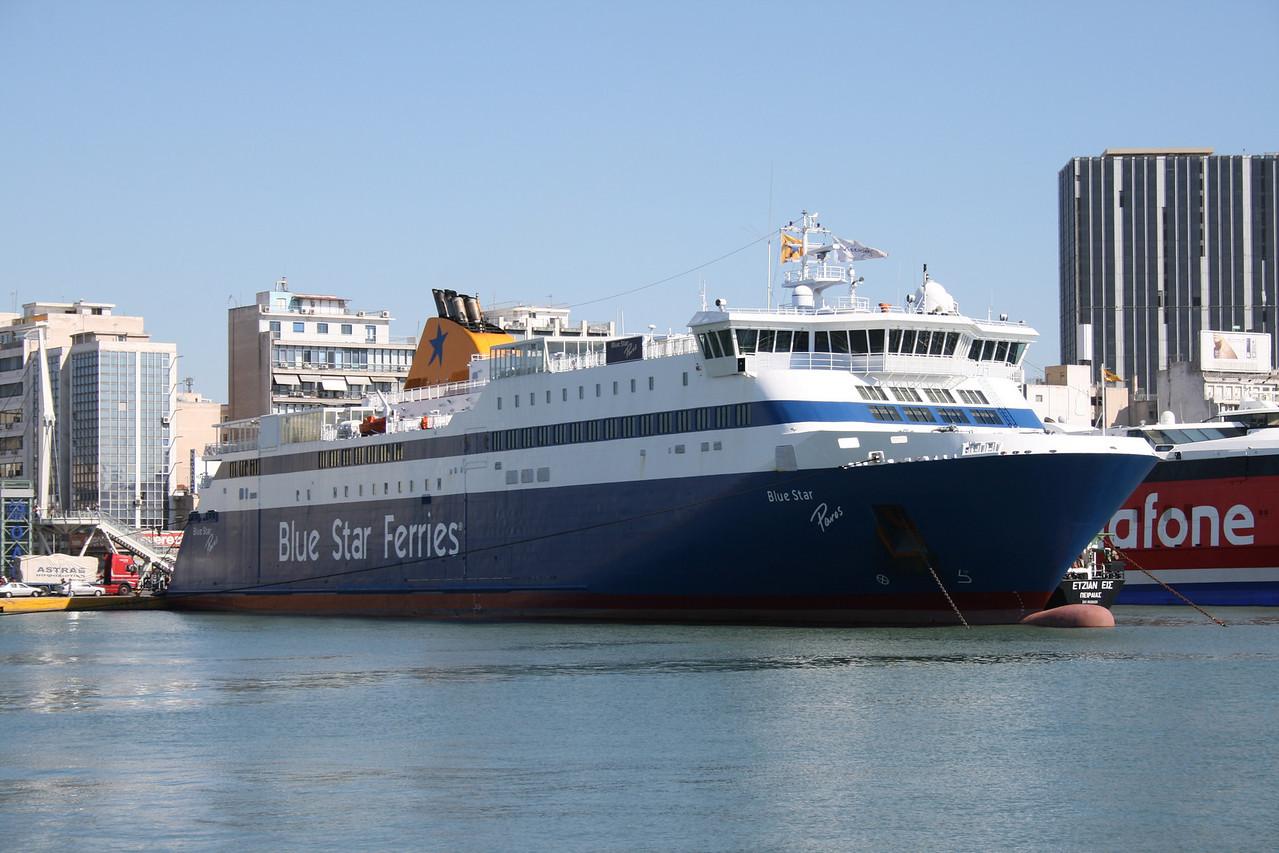 2009 - F/B BLUE STAR PAROS in Piraeus.