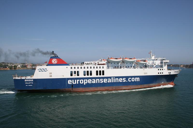 F/B BRIDGE departing from Brindisi to Corfu - Igoumenitsa.