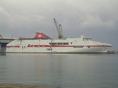 CRUISE OLYMPIA in construction at Castellammare di Stabia.
