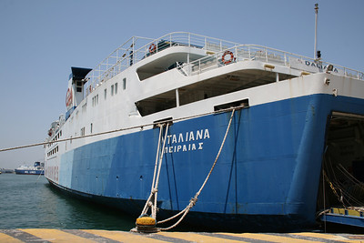 2011 - DALIANA laid up in Piraeus waiting for scrap.