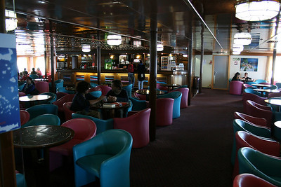 2010 - On board F/B ELLI T : deck 5 main lounge.