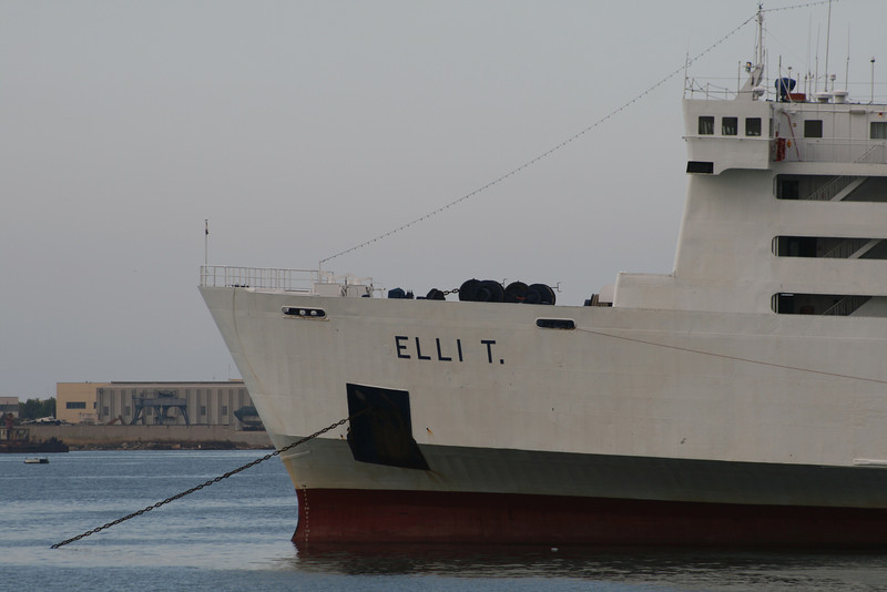 2008 - F/B ELLI T moored in Brindisi.