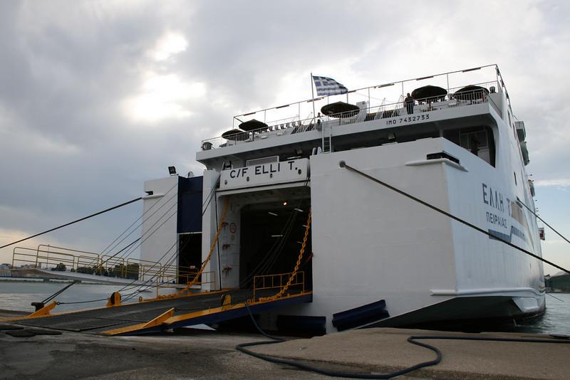2008 - F/B ELLI T moored in Brindisi.