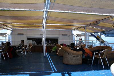 2010 - On board F/B ELLI T : deck 7 bar.