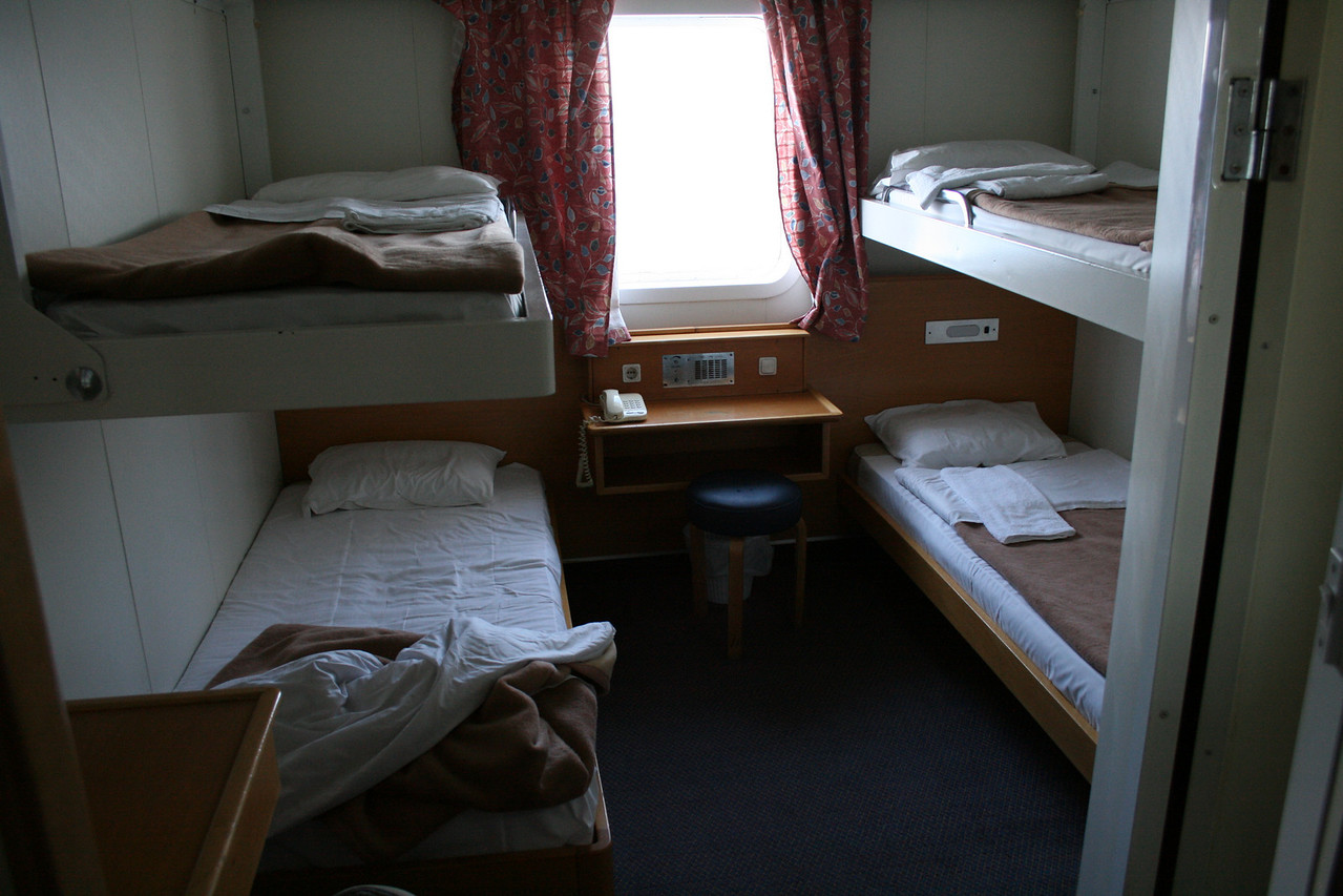 2010 - On board F/B ELLI T : A-cabin.