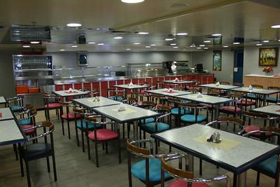 2010 - On board F/B ELLI T : self service restaurant.