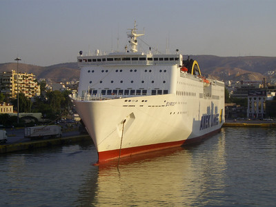 2012 - F/B ELYROS in Piraeus.