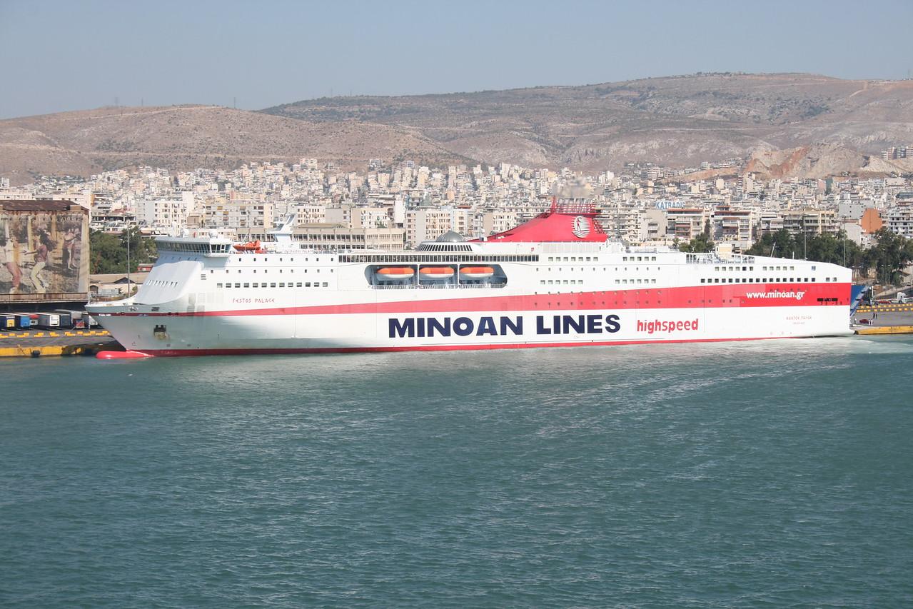 F/B FESTOS PALACE in Piraeus.