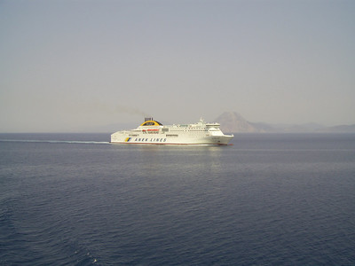 2012 - HELLENIC SPIRIT at sea.