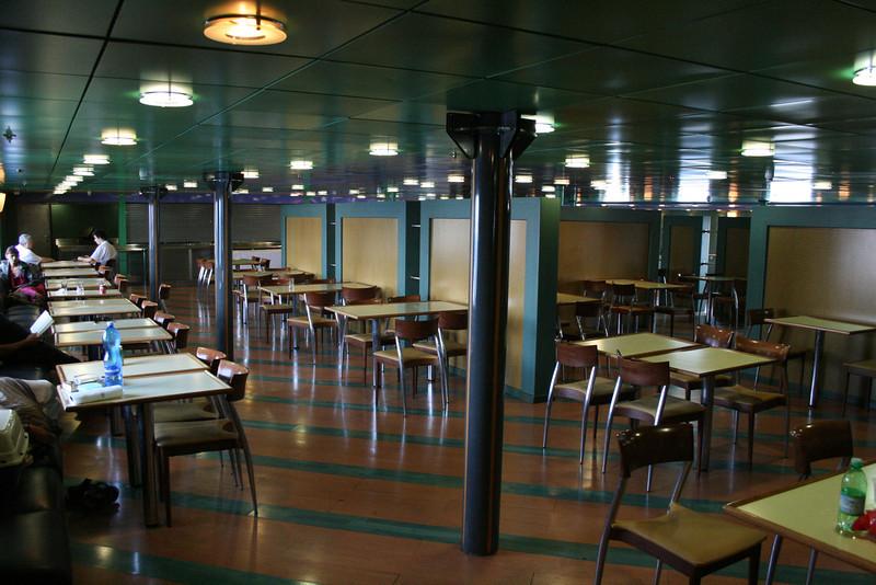 2010 - On board F/B IONIAN SKY : self service restaurant.