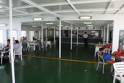 2010 - On board F/B IONIAN SKY : solarium bar, deck 8.