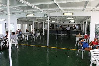2010 - On board F/B IONIAN SKY : solarium bar, deck 8.