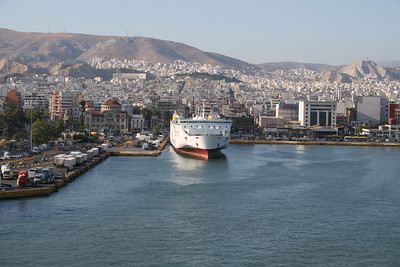 2009 - F/B KRITI II in Piraeus.