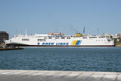 2008 - F/B KRITI II in Piraeus.